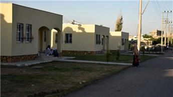 TOKİ'nin Şırnak'ta inşa ettiği müstakil konutlar tamamlanıyor