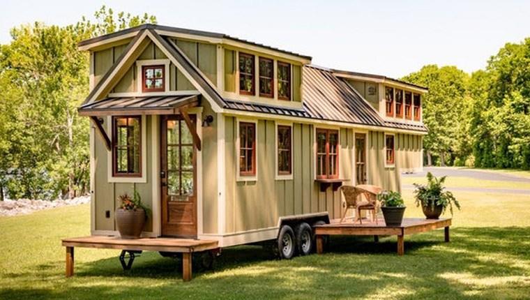 Yazlıkçının tercihi mobil ev!