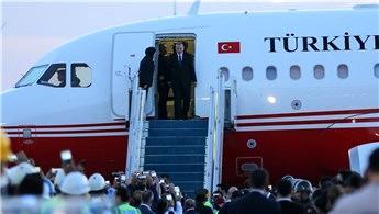 3. Havalimanı'na ilk inişi Cumhurbaşkanı Erdoğan yaptı