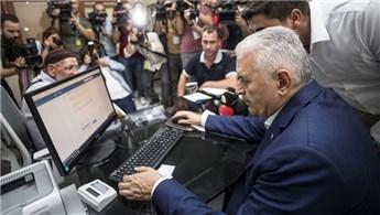 """Başbakan Yıldırım, """"İmar Barışı"""" kaydı yaptı"""