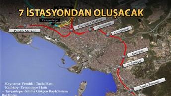 Pendik-Tuzla Metrosu 34 ayda tamamlanacak