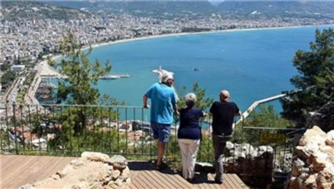 Türkiye'ye 180 ülkeden 7.8 milyon turist geldi!