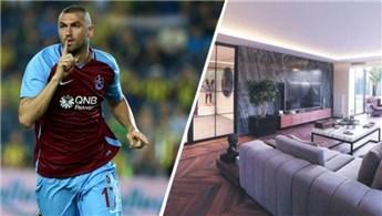 Trabzonspor'un milli forveti Burak Yılmaz villa aldı