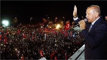 Yeni sistemin ilk cumhurbaşkanı Erdoğan!