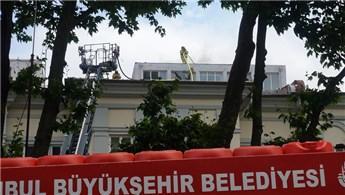 Mimar Sinan Güzel Sanatlar Üniversitesi'nde yangın!