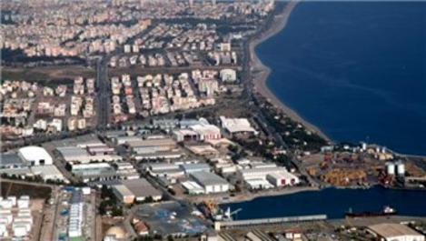 Antalya Serbest Bölgesi'nin sınırları genişletildi