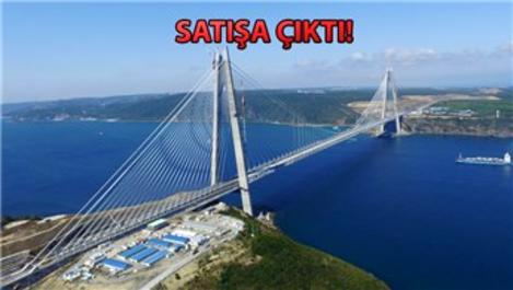 Yavuz Sultan Selim Köprüsü'yle ilgili flaş gelişme!