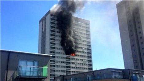 Londra'da büyük yangın!