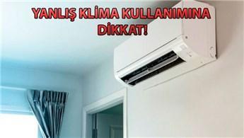 Kirli klima faturayı artırıyor!