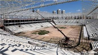 'Eryaman Stadı'nın yüzde 70'i bitti'