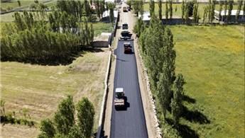Türkiye'nin en doğusundaki köyler asfaltla buluşuyor