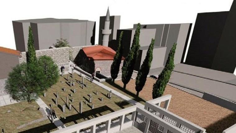 5 asırlık Haydarhane Cami, yeniden inşa edilecek