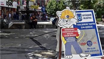 Ankara'daki İzmir Caddesi yenileniyor