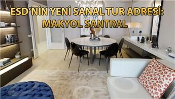Makyol Santral'in 2+1 dairesini sanal tur ile gezin!