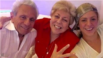 Shakira, İstanbul'a anne-babasını da getiriyor