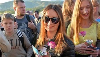 Rus turistlerin sayısı ocak-mayıs döneminde yüzde 49,6 arttı