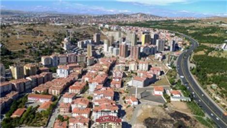 Ankara Mamak'ta kentsel dönüşüm çalışmaları sürüyor