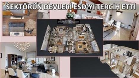 3D örnek daire sanal tur çekimleri