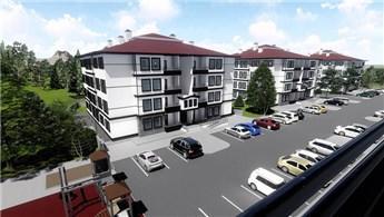 TOKİ'den Bolu Seben'e yöresel mimaride 266 konut!