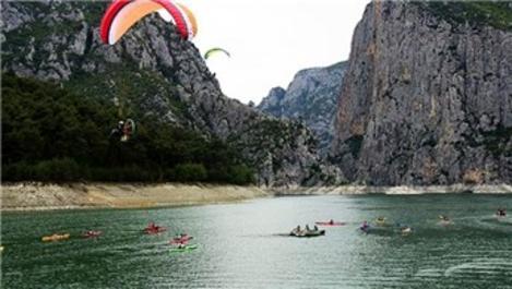 Şahinkaya Kanyonu turistlerin yeni gözdesi oldu