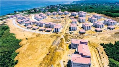 TOKİ'den deniz manzaralı villalar!