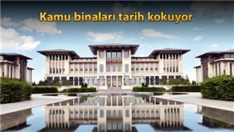 Kamu binalarının inşasında Osmanlı mimarisi esintisi!