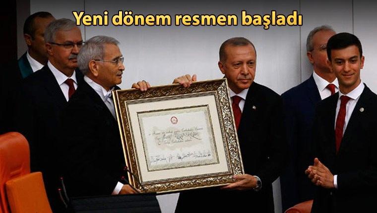 Cumhurbaşkanı Erdoğan yemin etti, Türkiye yeni sisteme geçti!