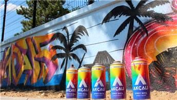 Grafiti Festivali'nde duvarlar Akçalı Sprey ile renklendi
