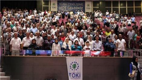 TOKİ'nin Silivri konutlarında 934 konutun hak sahibi belirlendi