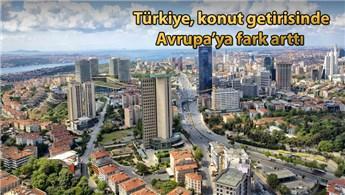 Konut Avrupa'da yüzde 11, Türkiye'de yüzde 142 kazandırdı