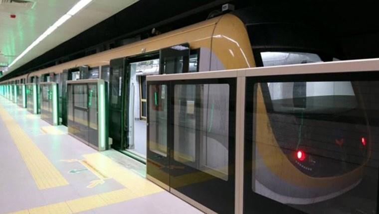 Sürücüsüz metro seferlerine ara verildi