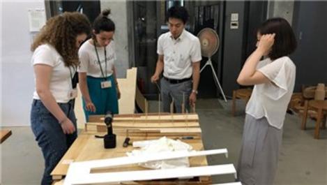 Mimar adayları Japonya'yı deneyimliyor