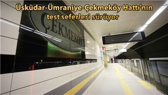 Türkiye'nin ilk sürücüsüz metrosunda test sürüşleri devam ediyor