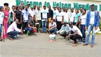 Nijerya'daki Mandela Parkı, Permolit Boya ile renklendi