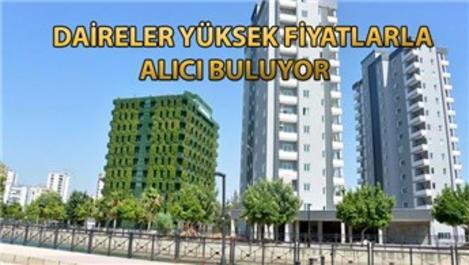 Adana'nın beton görüntüsüne inat 'sarmaşık' bina!