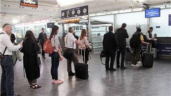 İstanbul havalimanlarında yolcu sayısı yüzde 12 arttı
