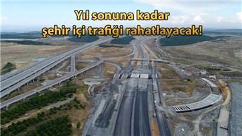 Kuzey Marmara Otoyolu inşaat çalışmaları hızlandı