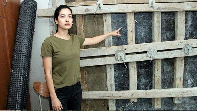 Oyuncu Gülden Dudarık'ın evi beton altında kaldı