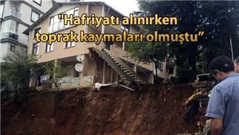 Sancaktepe'de çökme riski olan bina boşaltıldı