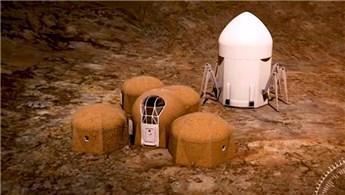 NASA, Mars'a yapılacak konutları tanıttı