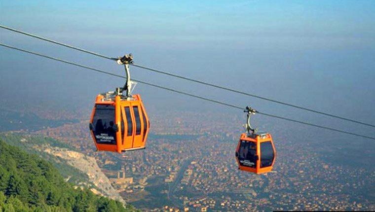 Amasya'ya 1488 metre uzuluğunda teleferik projesi!