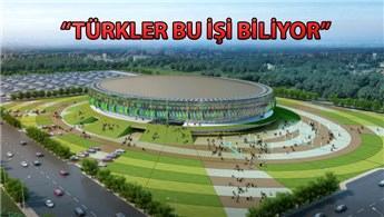 Senegal Spor Bakanı, Dakar Arena'ya hayran  kaldı