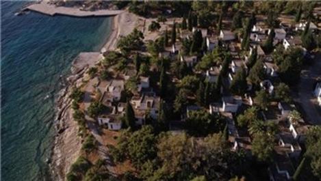 13 yıldır kapalı olan Foça Tatil Köyü yeniden açılıyor