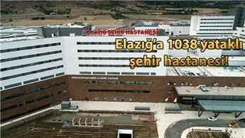Başkan Erdoğan'ın hayalim dediği Elazığ Şehir Hastanesi açıldı