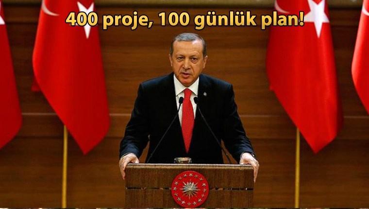 Başkan Erdoğan, hükümetin 100 günlük eylem planını açıklayacak!