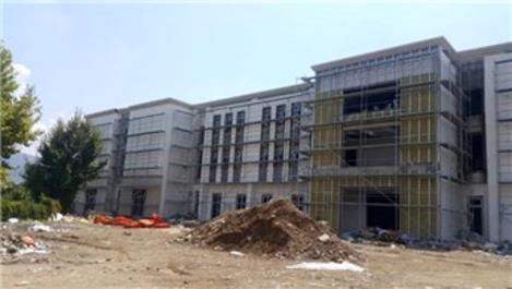 Kocaeli Dini Yüksek İhtisas Merkezi'nin inşaatı sürüyor