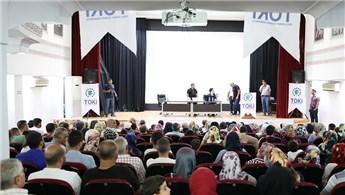 Şanlıurfa'da 72 konuta 1148 başvuru yapıldı
