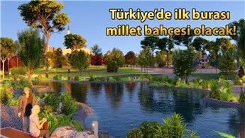 Zeytinburnu Beştelsiz Millet Bahçesi için geri sayım başladı