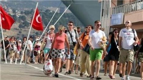 6.3 milyon turist eğlenmeye geldi
