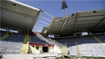 Ankara 19 Mayıs Stadyumu'nda yıkım çalışmalarına başlandı